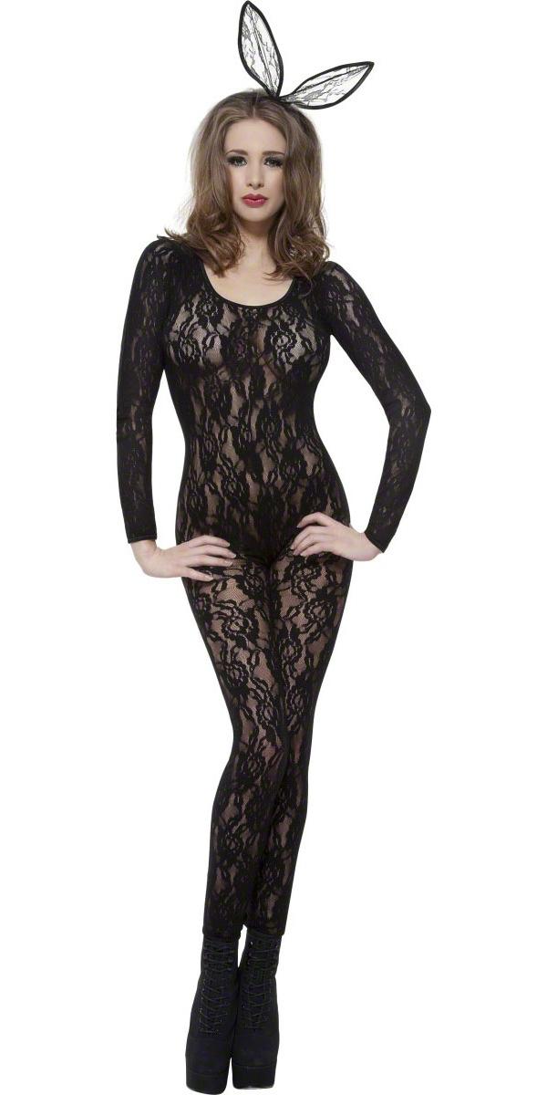 Justaucorps & culottes Body de dentelle noire