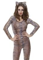 Tiger imprimer Bodysuit Justaucorps & culottes