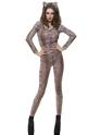 Justaucorps & culottes Tiger imprimer Bodysuit