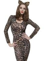 Body imprimé léopard brun Justaucorps & culottes