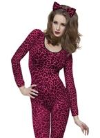 Body imprimé léopard rose Justaucorps & culottes