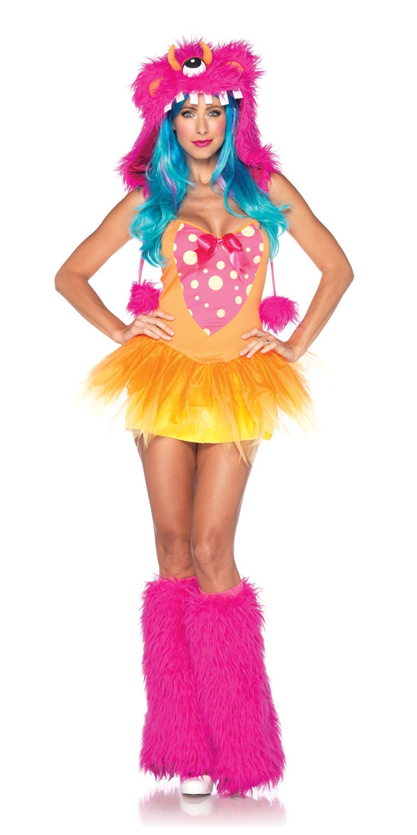 Leg Avenue Costumes Costume de monstre hirsute de Shelly