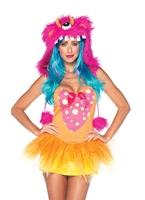 Costume de monstre hirsute de Shelly Leg Avenue Costumes