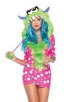 Costume de monstre de mélodie Leg Avenue Costumes