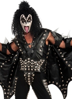 Collectors Edition Kiss Gene Simmons Costume Deguisement Kiss