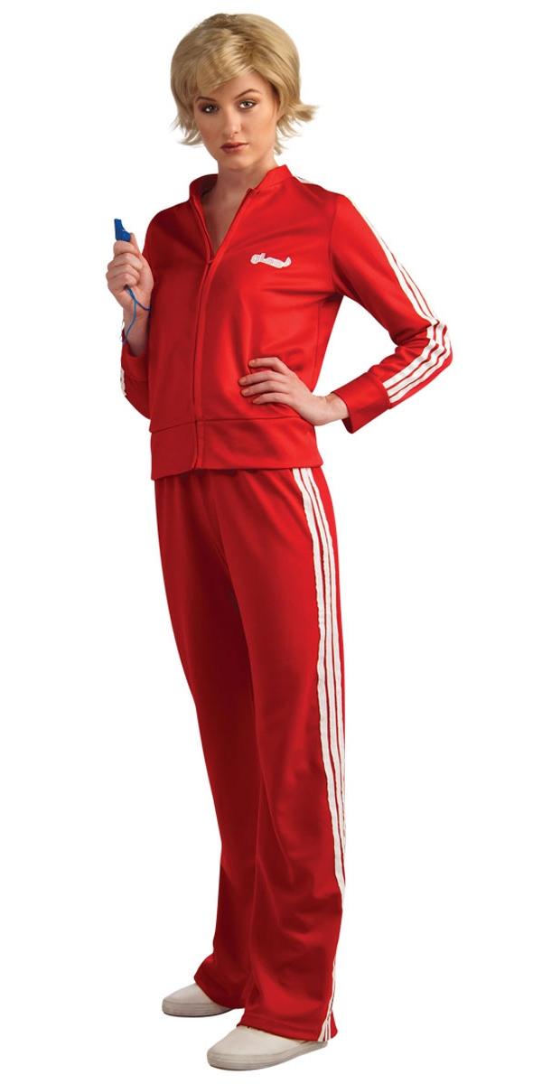 Sportif & Athlete Glee piste rouge costume Costume de Sue