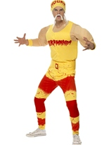 Costume de Hulk Hogan Sportif & Athlete