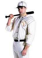 Vieux Costume de joueur de Baseball Tyme Sportif & Athlete