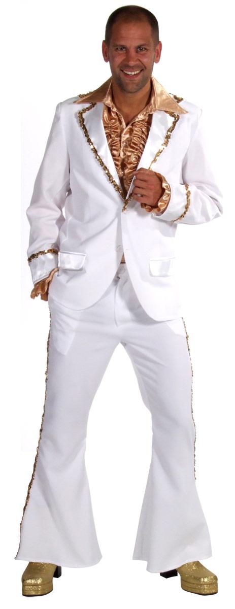 Costumes Cabaret Mens Bling costume Costume blanc