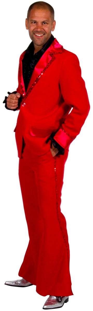 Costumes Cabaret Mens Bling costume Costume rouge