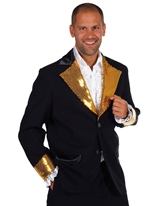 Cabaret Bling Jacket Black Costumes Cabaret