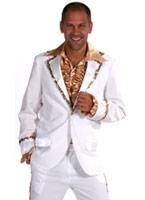 Mens Bling costume Costume blanc Costumes Cabaret