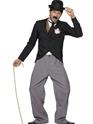 Célébrité Mortes Charlie Chaplin 1920 ' s Costume Star