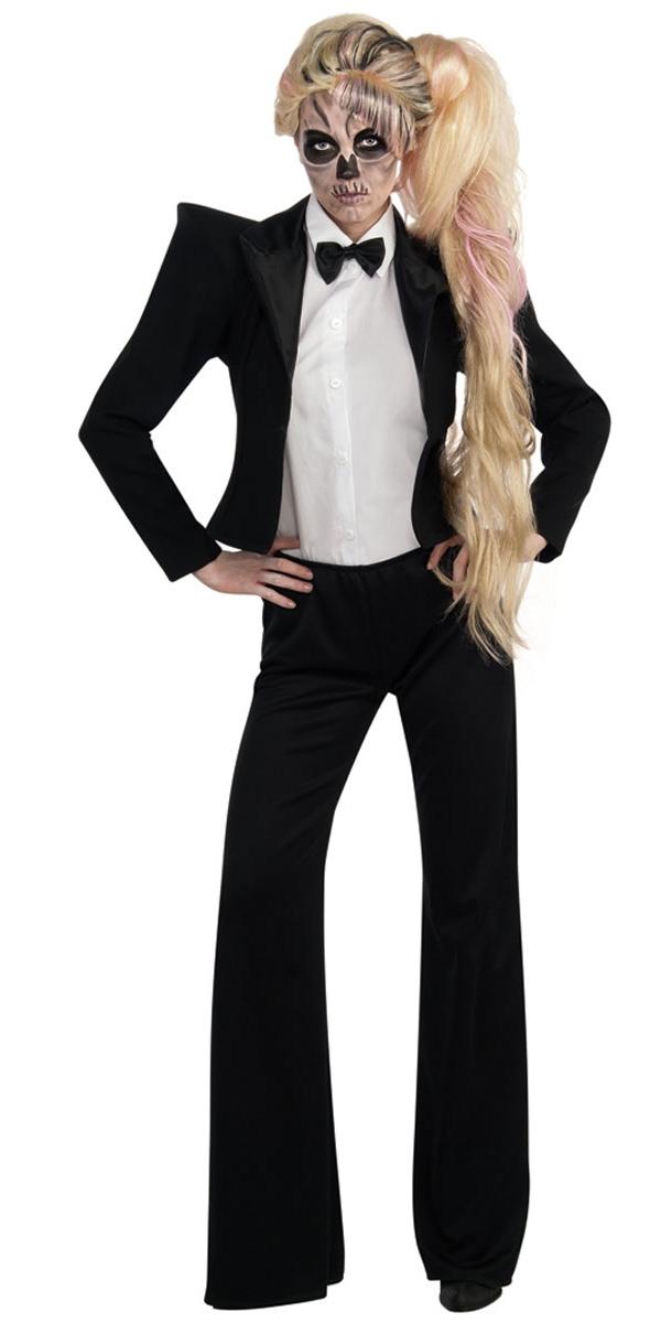 Artistes Pop & Rock Lady GaGa Tuxedo Costume