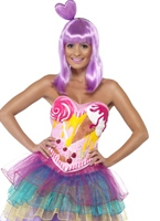 Candy Reine Katy Costume Artistes Pop & Rock
