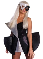Costume de Lady GaGa Sequin noir Artistes Pop & Rock