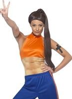 Sporty Spice Girl Costume Spice Girl Costume