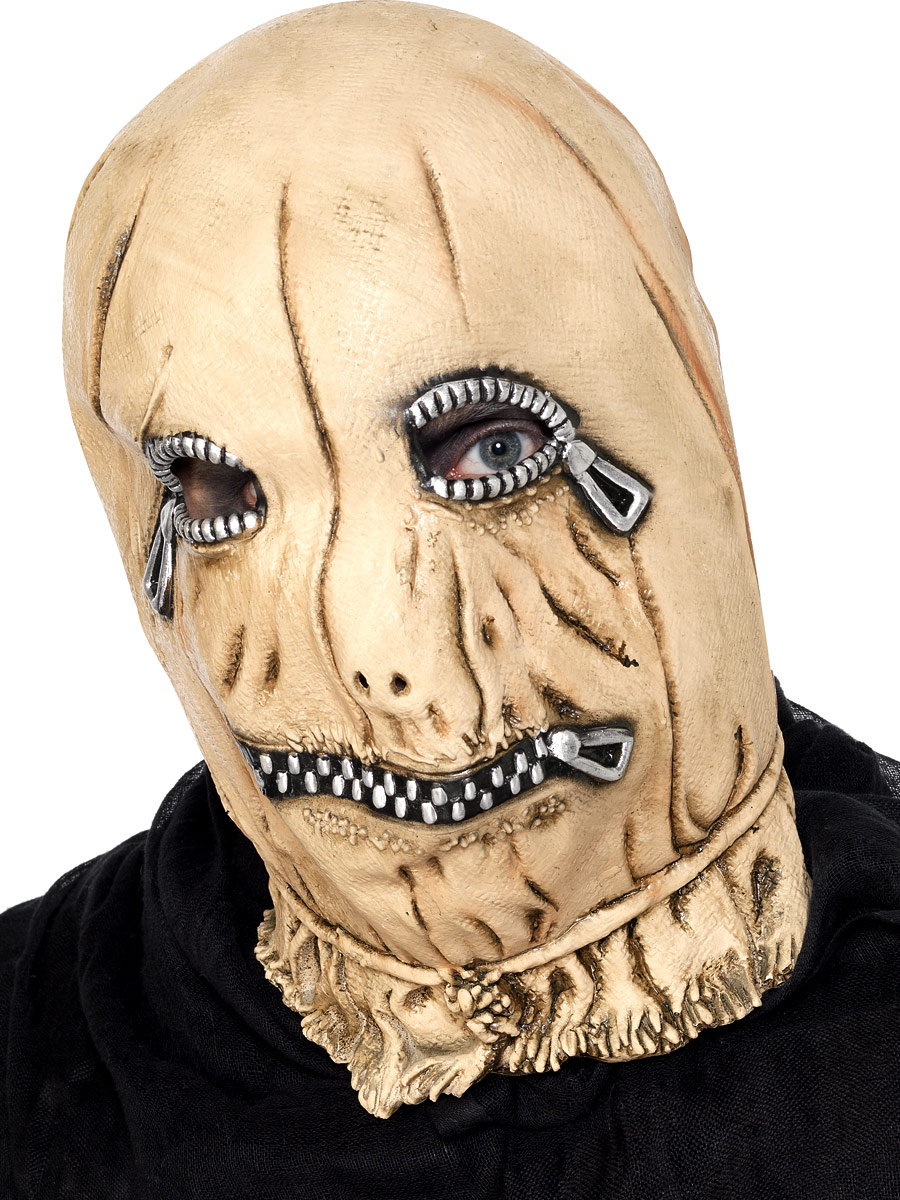 Masque Adulte Zip généraux visage masque en caoutchouc