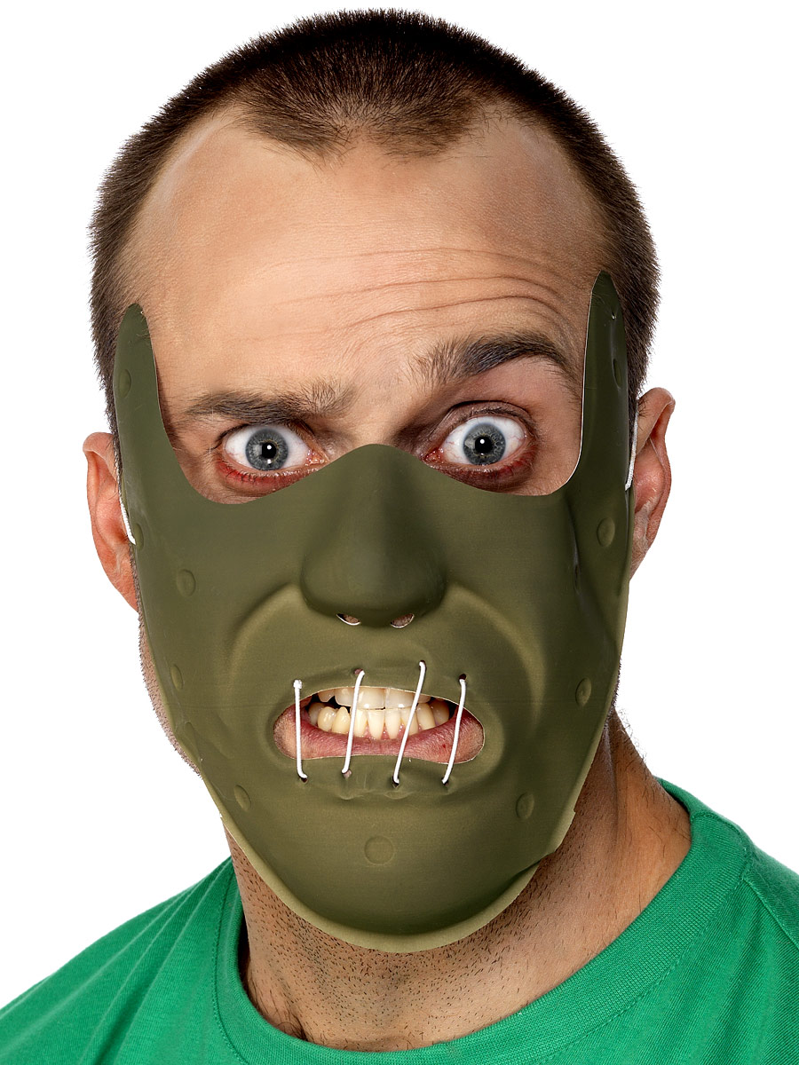 Masque Adulte Retenue horreur masque Pvc