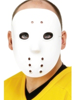 Hockey masque Pvc blanc Masque Adulte