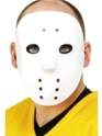 Masque Adulte Hockey masque Pvc blanc