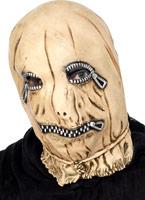 Zip généraux visage masque en caoutchouc Masque Adulte