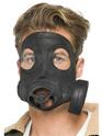 Masque Adulte Masque à gaz caoutchouc noir