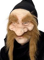 Chercheur d'or demi visage masque en caoutchouc Masque Adulte