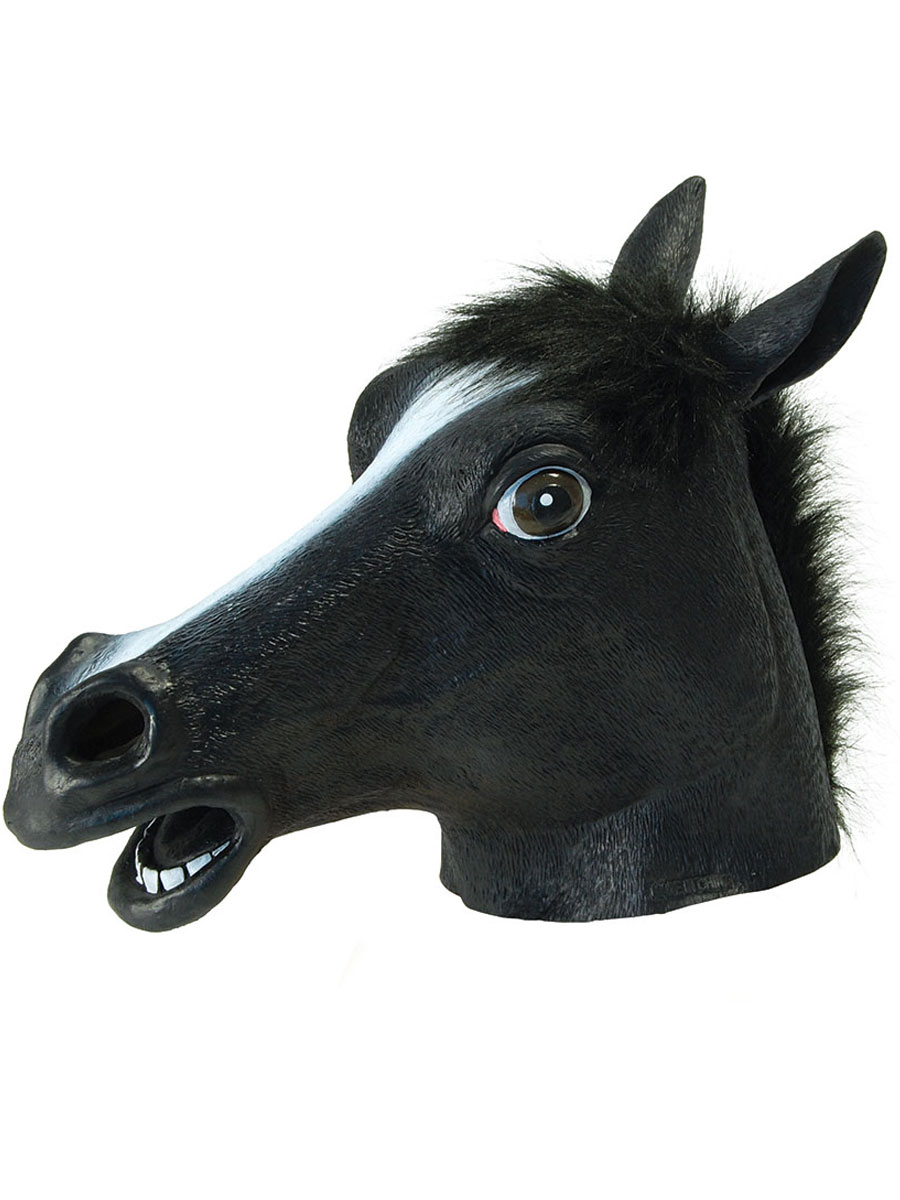 Masque Animaux Masque de cheval Black Beauty