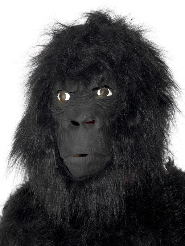 Masque Animaux Gorille masque en caoutchouc