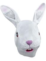 Masque de lapin blanc Masque Animaux