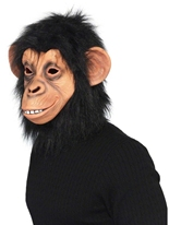 Masque complet g�n�raux Chimp Masque Animaux