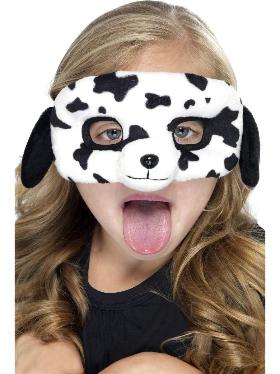 Masque Enfant Masque pour les yeux de Dalmatie pour enfants