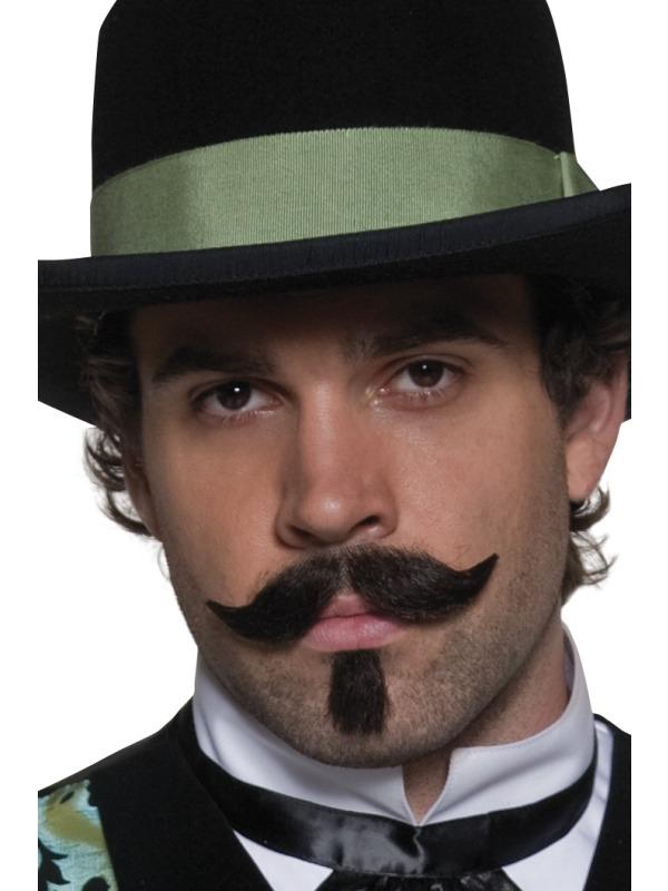 Barbes & Moustache Gambler Ouest Moustache