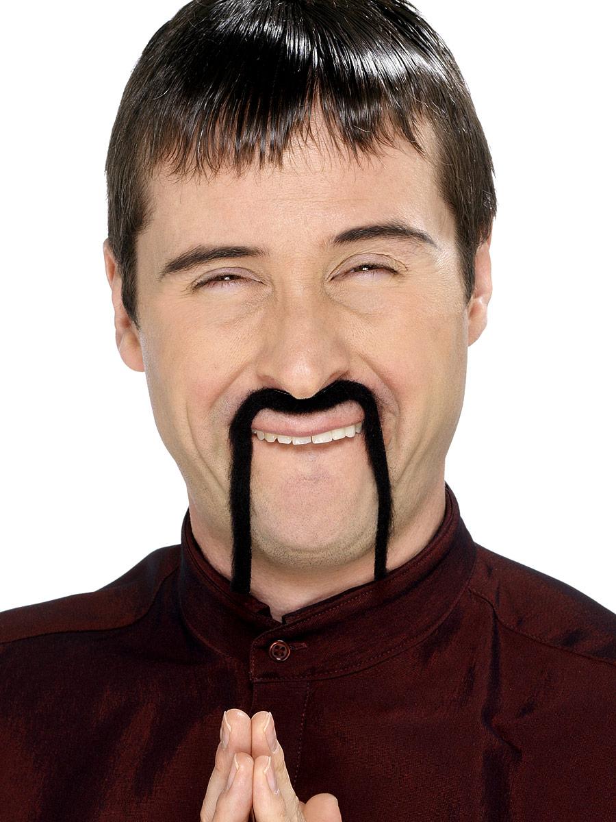 Barbes & Moustache Chinois Mandarin Tash noir