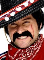 Mexicain Tash noir Barbes & Moustache