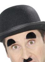 Sourcils et Chaplin Tash jeu noir Barbes & Moustache