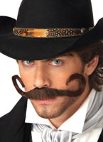 La Moustache de Gunslinger Barbes & Moustache
