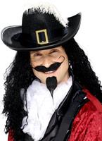 Jeu de Tash et cavalière barbe noir Barbes & Moustache