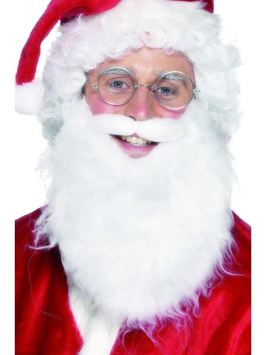Perruque Pere Noël Économie Santa barbe