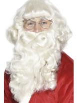Luxe Santa barbe Perruque Pere Noël