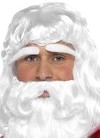 Jolly Santa perruque Perruque Pere Noël