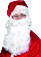 Luxe qualité Santa barbe Perruque Pere Noël