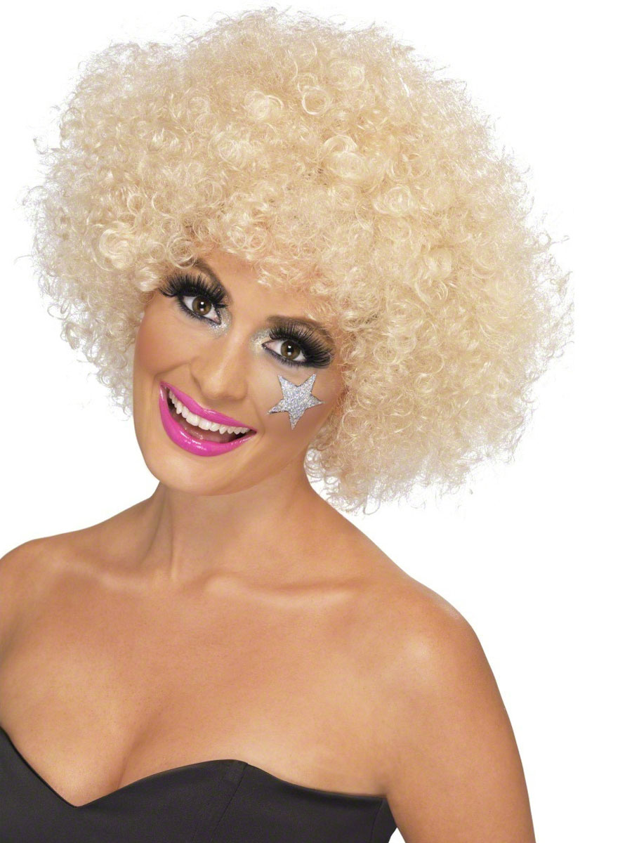 Perruque Afro Funky Blonde Afro