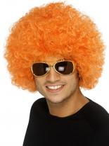 Funky Orange Afro Perruque Afro