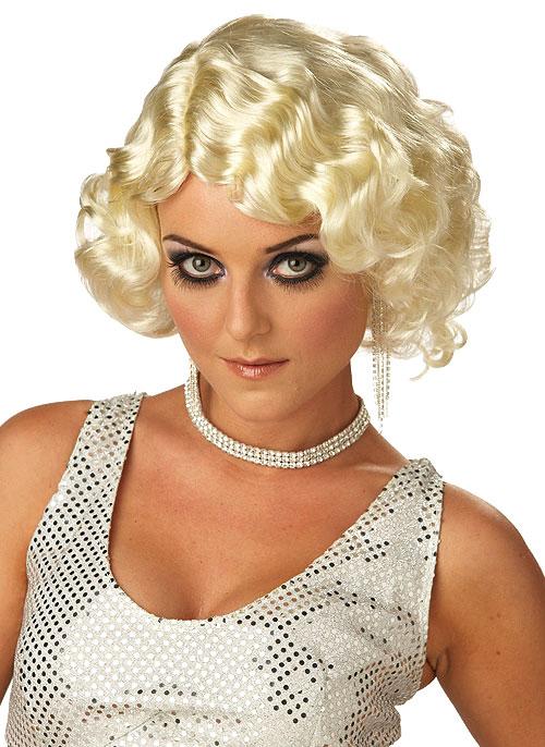 Perruque Années 1920 Perruque Blonde de cabaret