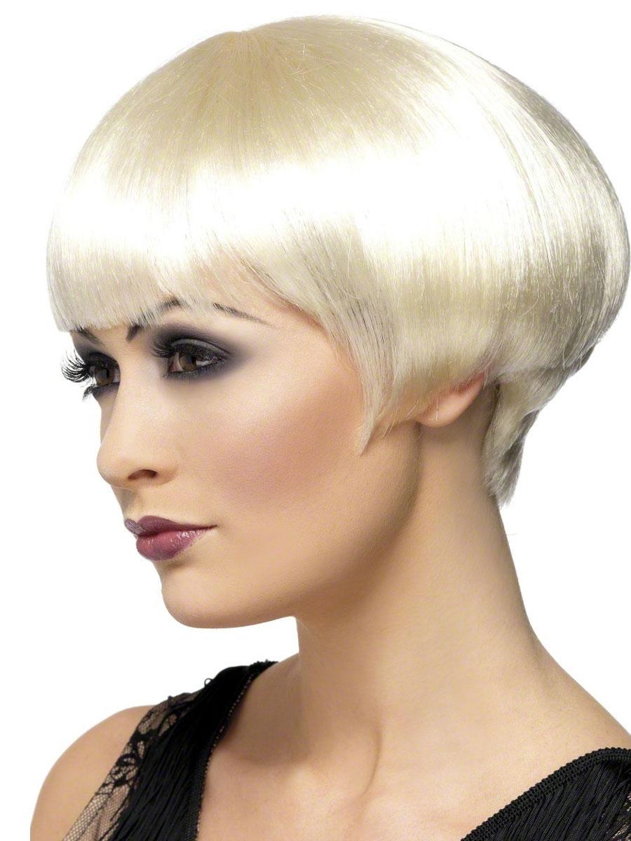 Perruque Années 1920 années 1920 Bob perruque Blonde