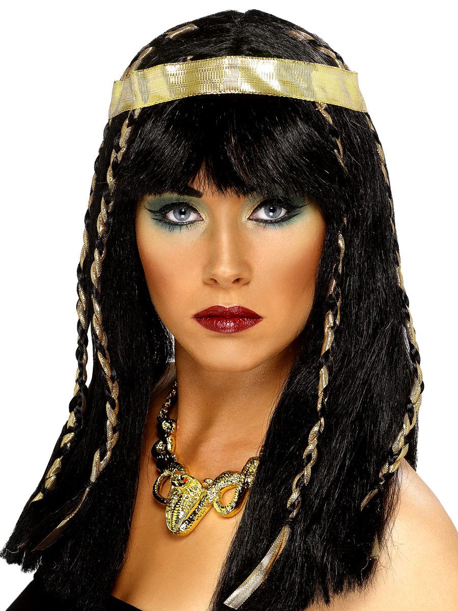 Perruque Femme Classique Perruque égyptienne noir