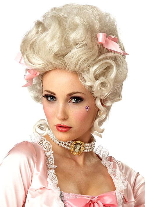 Perruque Marie Antoinette Blonde Perruque