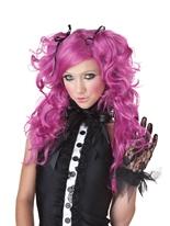 Perruque de maison de poupée Perruque Femme Classique